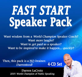 Fast Start Speaker Pack