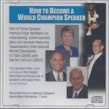 How to Become a World Champion Speaker